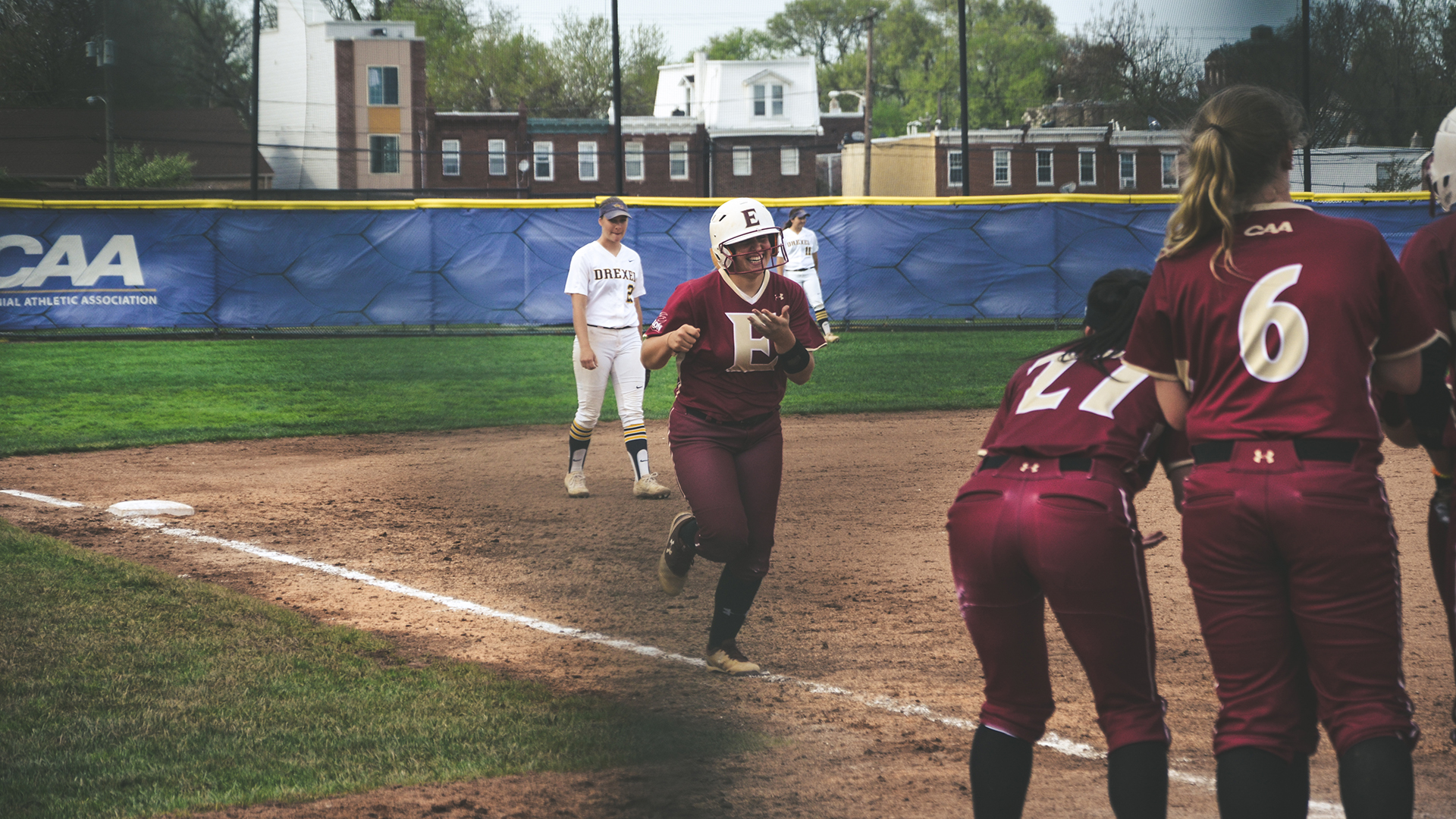 Long Ball Rally Helps Softball To Road Win At Drexel Elon