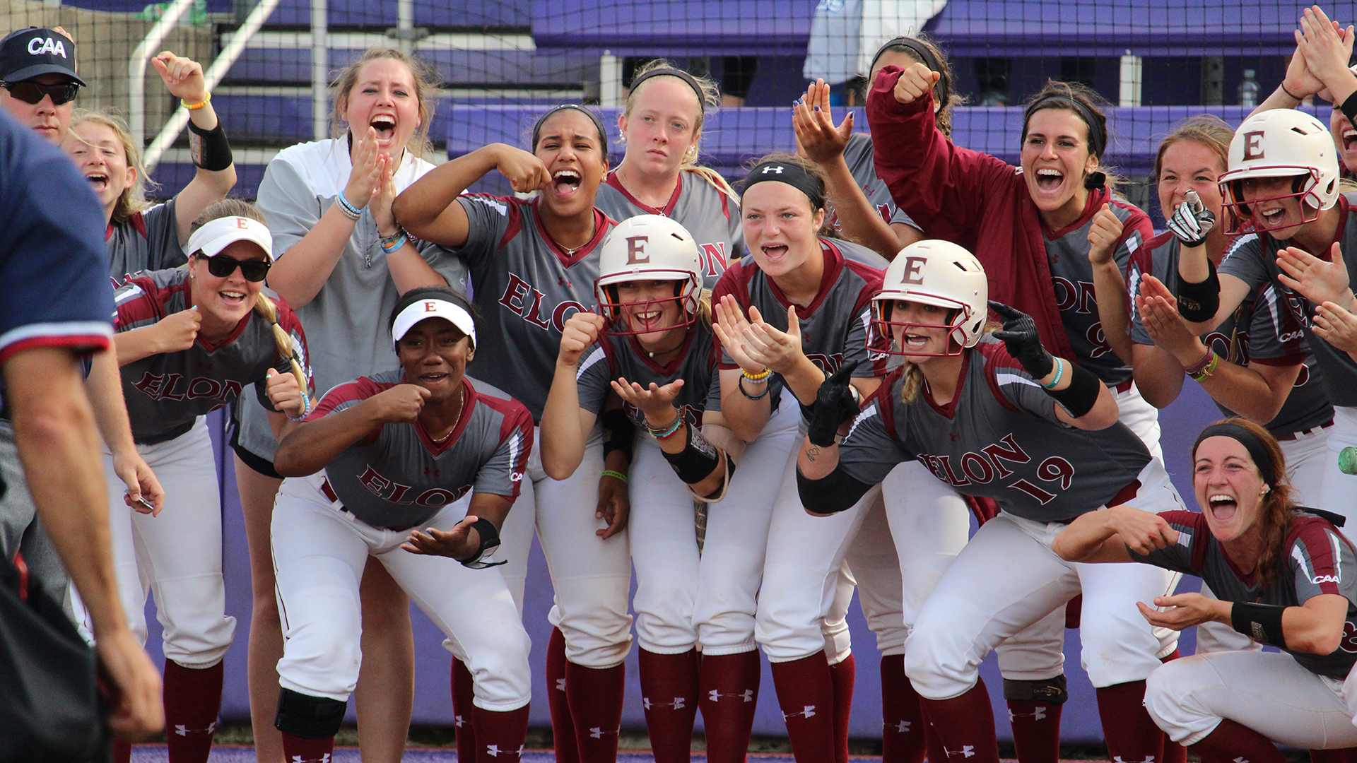 Softball Punches Ticket To First Ever Caa Title Game Elon